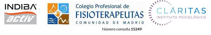 colegio-oficoal-de-fisioterapeutas-de-madrid-consulta_logo-indiba-activ_claritas